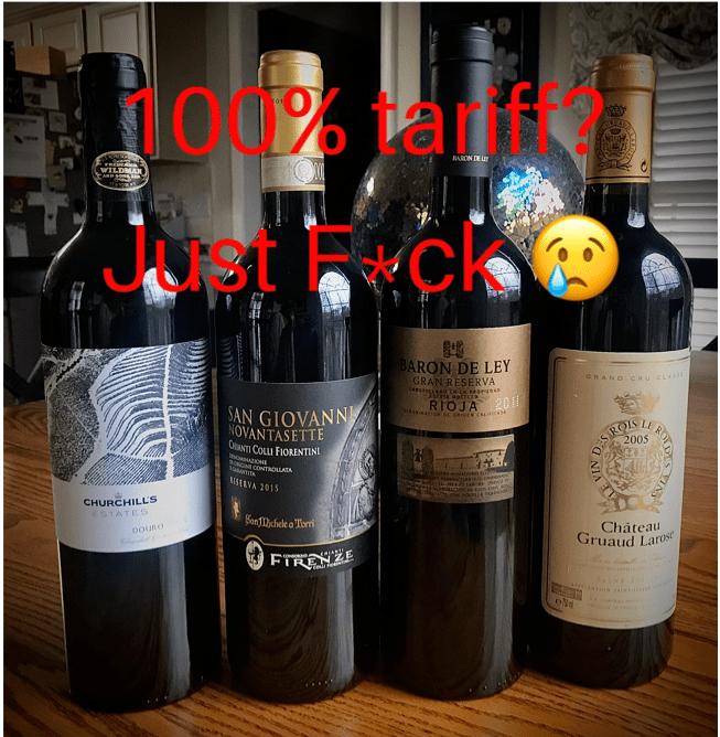 100 tariif just fck -1