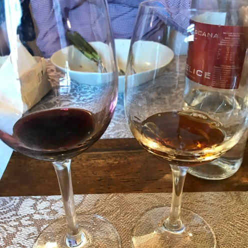 VinSanto on the right.