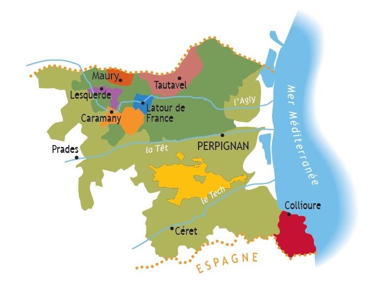 roussillon map